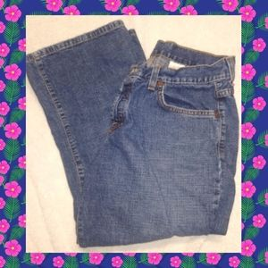 Lucky Brand Classic Crop Jeans
